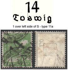 GERMANY, SBZ. Soviet Zone. HOP. 14 Coswig type 11a  Mi.169⊙ BPP Muller