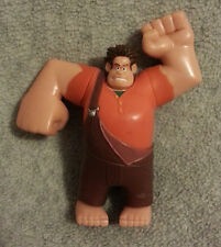 """DISNEY WRECK IT RALPH FIGURE PVC """"RALPH"""" 4"""" CAKE TOPPER THINKWAY MOVEABLE ARMS"""