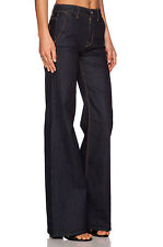 NWT 7 For All Mankind High Waist Trouser in Rich Rinse Runway Jeans 24 x 33