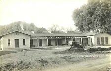ANTIQUE CAR, MOTEL & ORIGINAL ca 1910's REAL PHOTO POSTCARD