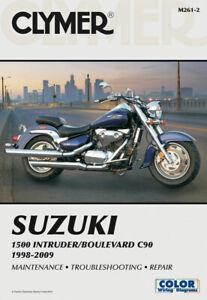 Clymer Repair Manual for Suzuki 1500 Intruder/Boulevard C90 (1998-2009) M261-2