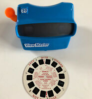 3D Blue Fisher Price View-Master Slides Viewer & Reel Classic Children's Stories