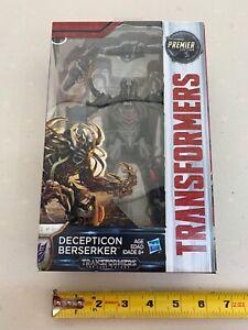Transformers The Last Knight BERSERKER -Premier Edition -Deluxe Class NEW -00310