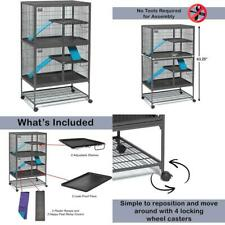 Midwest Homes For Pets Deluxe Ferret Nation Small Animal Cages, Ferret Nation Ca
