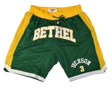 Headgear Iverson Bethel High School Basketball Jersey Shorts Green