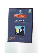 COLLINS ENGLISH TALKING DICTIONARY - INTENSE LANGUAGE OFFICE - PC SOFTWARE - VGC