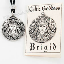 Brigid's Brigit Pendant Necklace reg s Great Triple Goddess Celtic Irish Jewelry