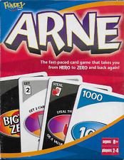 Arne the Card Game Takes You From Hero to Zero and Back Again Used Fundex 2004