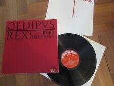 Igor Stravinsky  - Oedipus Rex - Czech  Supraphon – SUA ST 10678 LP 1966