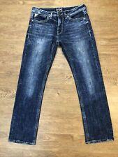 Salvage Mayhem Jeans Mens 32L 32x34 Sandblasted EUC!!!!