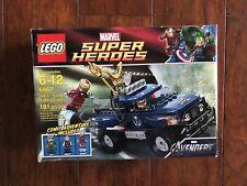LEGO 6867 MARVEL SUPER HEROES IRONMAN LOKI'S COSMIC CUBE ESCAPE SEALED RETIRED
