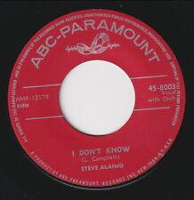 Steve ALAIMO * I Don't Know * 60's SKA SOUL MOD R&B POPCORN * Listen!
