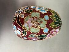 Japanese Highly Decorative Enamelled Collector's Egg