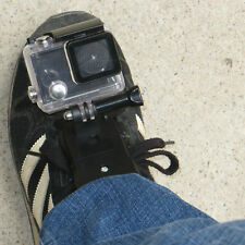 GoPro mount on boot for Paramotor Paraglider Snowboarding and Skydiving