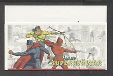 Aland 2011 Comic Book Superheroes unused booklet Vf Nh