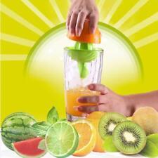Mini Manual Hand Citrus Juicer Orange Plastic Squeezer Fruit Lemon Press  new.