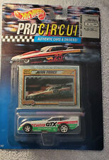 Hot Wheels Pro Circuit John Force 1992 Collector Card Details Authentic Car
