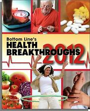 Bottom Line/HealthDay Health Breakthroughs 2012 - Useful Book For Regular Folks