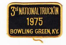 vintage Patch 3rd National Truck In 1975 Bowling Green KY custom Van Meet Up