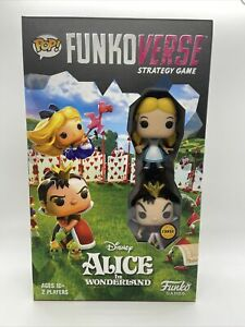 POP FUNKOVERSE CHASE ALICE IN WONDERLAND GAME STRATEGY GLITTER QUEEN OF HEARTS