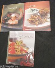 Lotto 3 libri Grande Cucina Corriere della Sera Antipasti Fritti Emilia Romagna