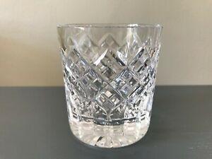 "Immaculate Stuart Crystal Blenheim Water Juice Whiskey Tumbler 3 3/8"" Signed"