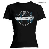 Official Skinny T Shirt ED SHEERAN Divide 'Live Photo' Black All Sizes