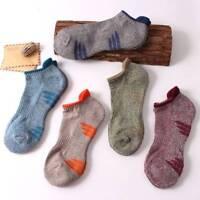 Men's Socks Casual Breathable Sport Basketball Short Sock Cotton 1 Pair