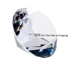 5 Diamond Crystals Confetti Loose Prisms Wedding 40mm