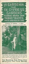 1940s Gardenia Time in Cypress Gardens Winter Haven FL Brochure with Gail Armour