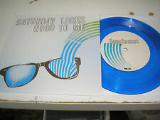 "Saturday Looks Good to Me - Sunglasses b/w Give Me Your Hands 7"" new blue vinyl"