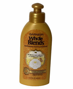 Garnier Whole Blends Moroccan Argan Camellia Oils Extracts Leave-In Conditioner