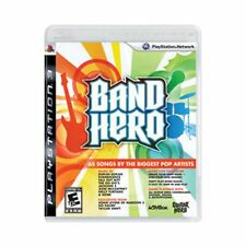 PS3 BAND HERO Video GAME w/case no-guitar sony playstation-3 COMPLETE devo styx