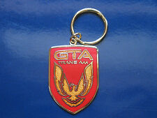 Pontiac Firebird Trans Am GTA Bright Red Front Nose Badge Keychain