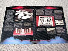 MAKE OFFER - Otari MTR-90, pro 24-track multitrack reel to reel deck brochure