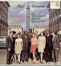 SWINGLE SINGERS / MODERN JAZZ QUARTET ~ PLACE VENDOME ~ 1967 UK 7-TRACK MONO LP
