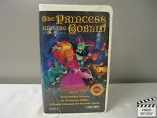 The Princess and the Goblin VHS (Clamshell) Joss Ackland, Claire Bloom; Gemes