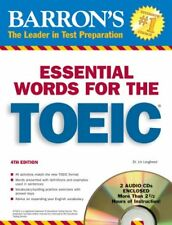 Essential Words for the TOEIC with Audio CDs (Barr