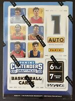2020-21 Panini Contenders Draft Picks Collegiate Basketball Sealed Blaster Box