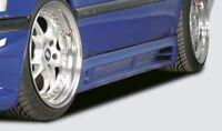 Rieger Seitenschweller schwarz matt für Mercedes Benz C-Klasse (W202): 00.93-06.