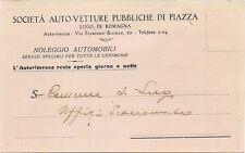P4604    Ravenna, LUGO   Soc. Auto Pubbliche di Piazza