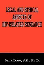 The Language of Science Ser.: Legal and Ethical Aspects of HIV-Related...