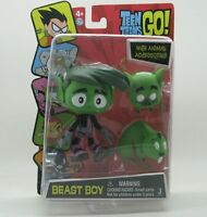 DC Comics TEEN TITANS GO! Action Figure beast boy with animal accessories A65E