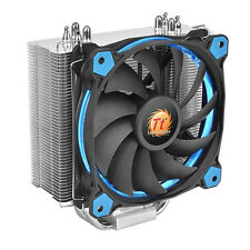 Thermaltake Riing Silent 12 Blue Single Tower CPU Cooler 4 Heatpipes 1x120mm P