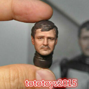 1:12 Mandalorian Normal Face Male Soldier Head Sculpt Fit 6'' Hasbro Figure Body