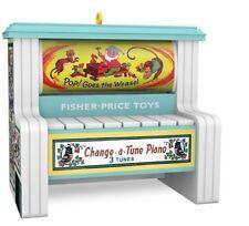 Hallmark 2018 Change a Tune Piano Fisher Price Magic Ornament