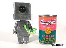 Mike Slobot Retro Robot Sculpture Brickbot MkII Mid Century Modern eames panton