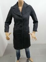 Cappotto MOSCHINO Donna Taglia Size 40 Jacket Woman Veste Femme Lana Vergie7660