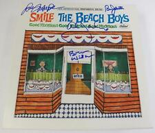 "Brian Wilson THE BEACH BOYS Signed Autograph ""SMiLE"" Album LP Box Set by All 4"