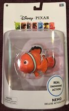 Disney Pixar Nemo Deluxe Action Figure Real Swimming Action New ThinkWay Toys